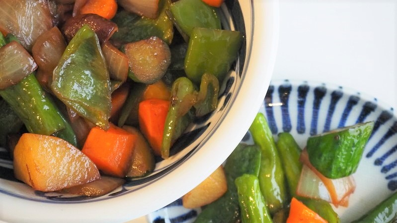 野菜の油煮(あぶらだき)